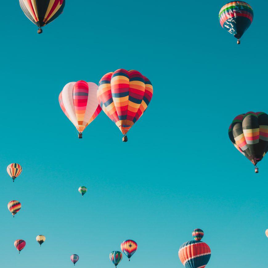 Baptême de l'air en montgolfière