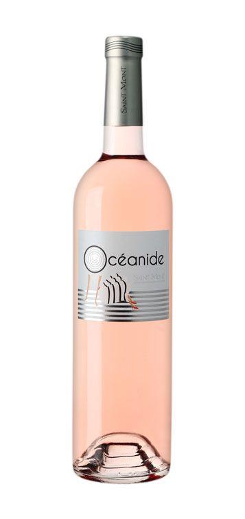 Bouteille de vin AOC Saint Mont rosé Océanide