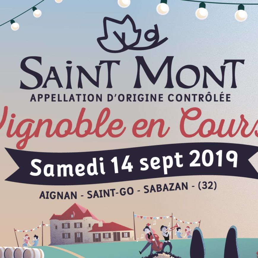 Saint Mont Vignoble en Course 2019, la course des épicuriens