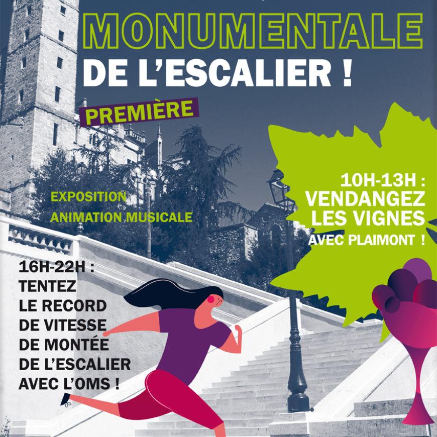 La Journée Monumentale de l'escalier 2019