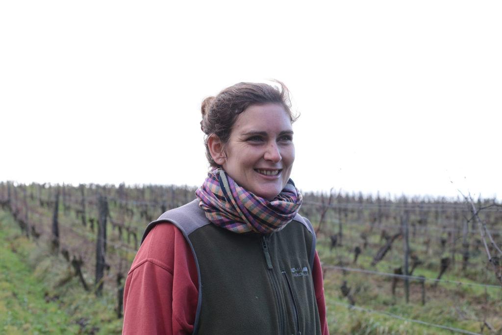 Soizick Millet, vigneronne bio à Saint-Mont