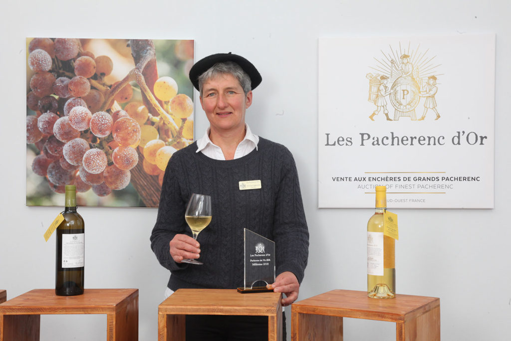 Veronique Terrade - laureat Pacherenc d'Or