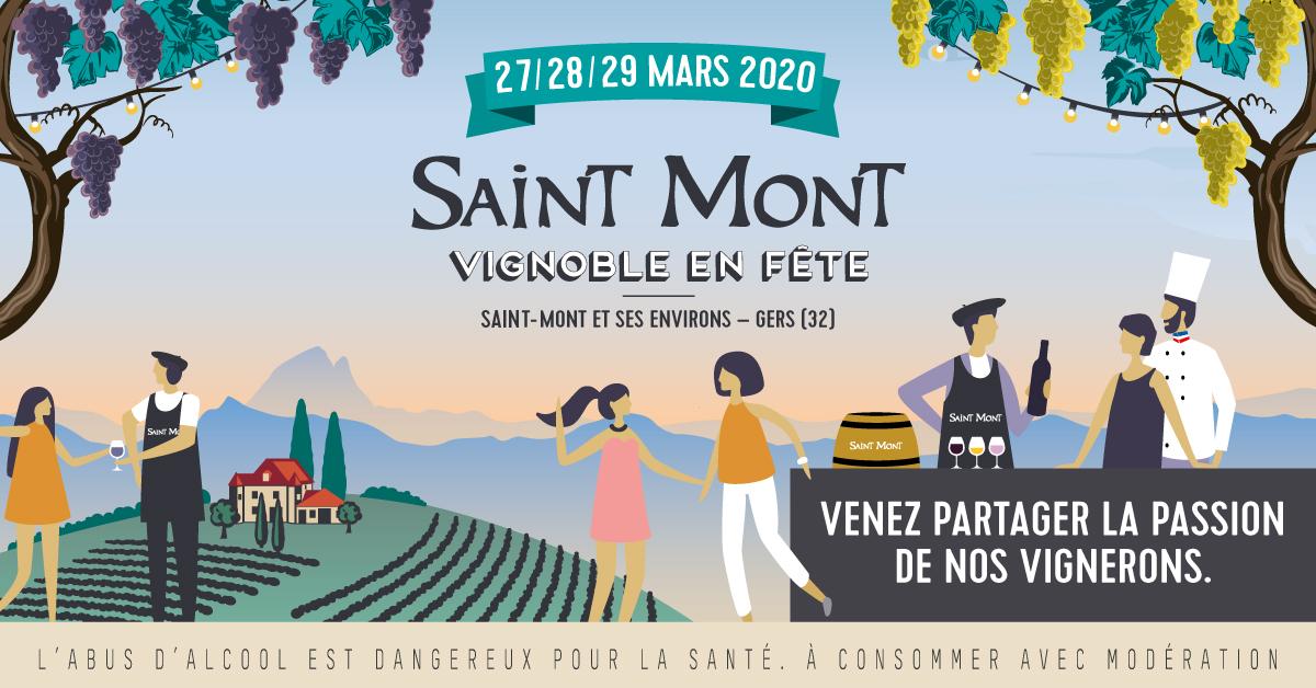 Saint Mont Vignoble en Fête, le programme 2020