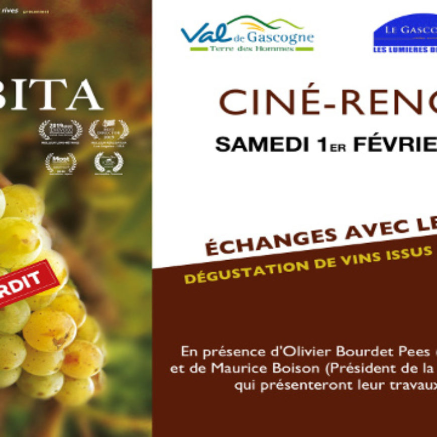 Projection du film Vitis Prohibita à Condom
