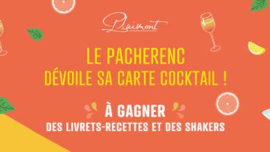Jeu-Concours – Le Pacherenc dévoile sa carte cocktails !