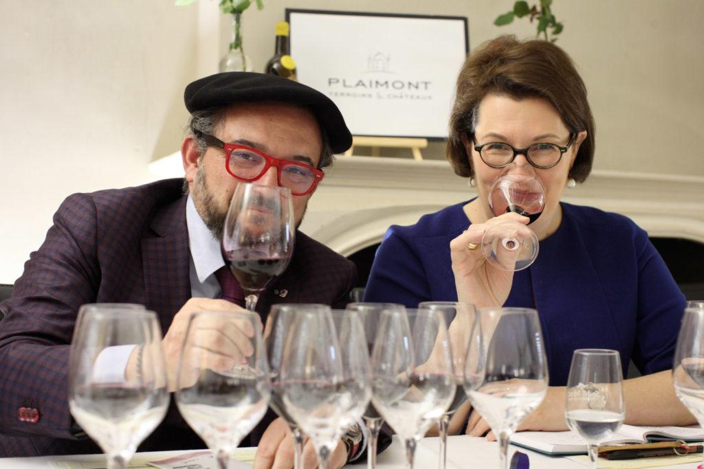 Parrains de l'Assemblage du Faîte 2020 : Fabrice Sommier et Romana Echensperger