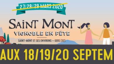Saint Mont Vignoble en Fête reporté en septembre 2020
