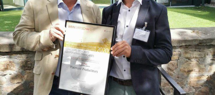 Plaimont élu Meilleure coopérative française par le magazine Weinwirtschaft