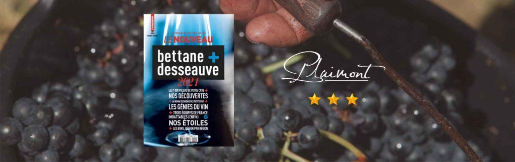 Nouveau guide Bettane+Desseauve 2021 Plaimont