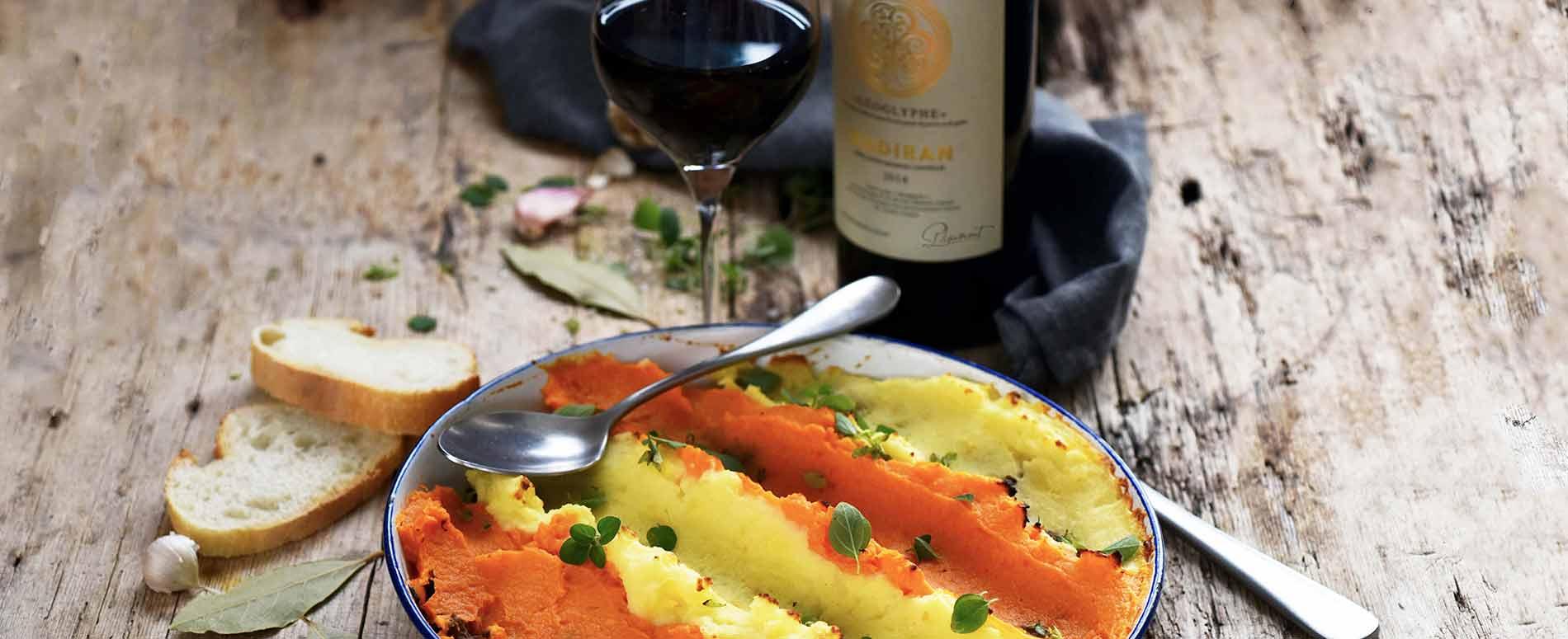 Recette Hachis parmentier patate douce et pomme de terre